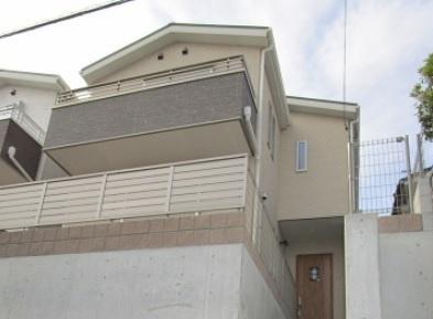 【外観】神戸市垂水区西舞子8丁目 B号棟 未入居物件