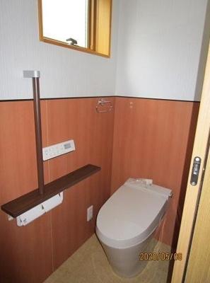 【トイレ】神戸市垂水区西舞子8丁目 B号棟 未入居物件