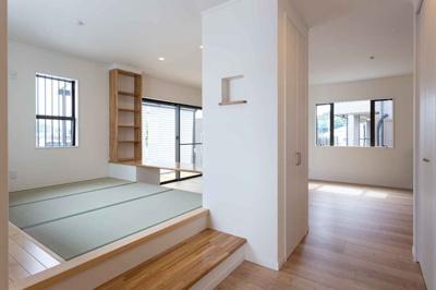 【居間・リビング】長期優良認定住宅 小野市中町新築