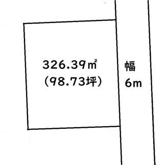 【土地図】前橋市大利根町一丁目売地