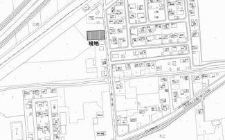 【地図】上ところ 売土地