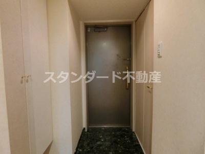 【玄関】ジュネ―ゼグラン心斎橋東