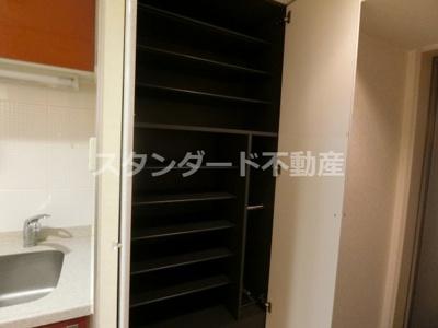 【収納】ジュネ―ゼグラン心斎橋東