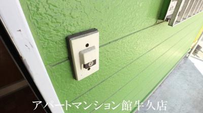 【玄関】グリーンリッチヒルズA棟