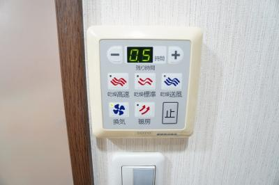 浴室乾燥・暖房付き