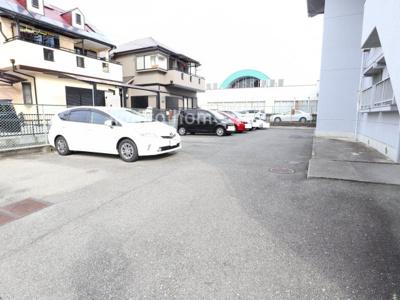 【駐車場】ハイツ奥山