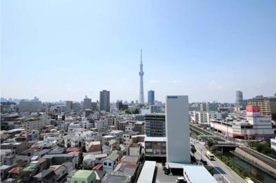 【展望】パークナード亀戸ロジュマン 12階 66.01㎡ 亀戸3丁目