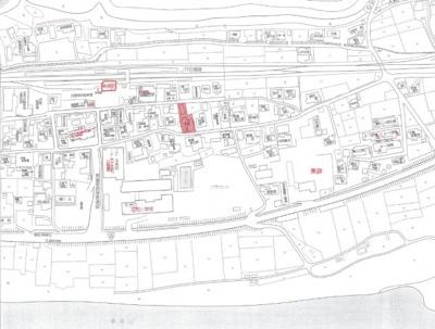 【地図】総社市美袋 約140坪 売地