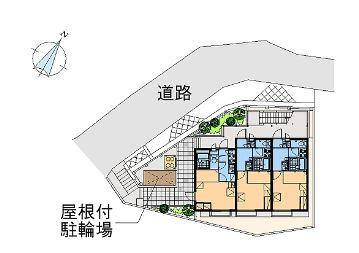 【区画図】ハウス ホウオウ