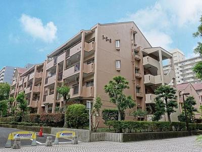 【外観】メゾンリバーサイド 値下げ 角部屋 リフォーム済 東大島駅2分