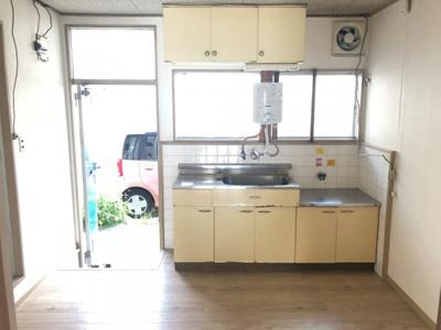 【キッチン】アパートサンシャイン