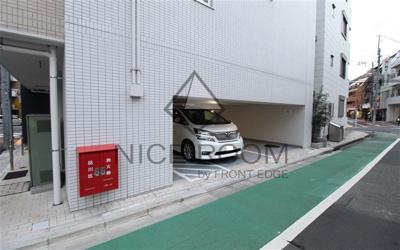 コージーコート島津山 駐車場