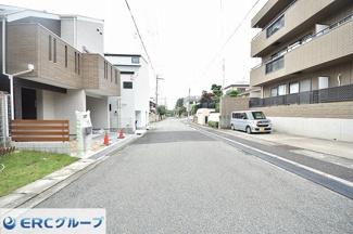 【前面道路含む現地写真】篠原北町 新築一戸建