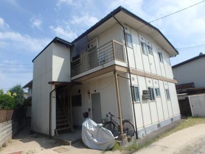 【外観】岡山市東区可知 大西アパート