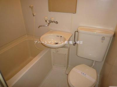 【浴室】コーポサイドロード