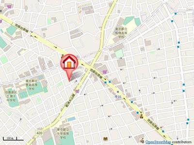 駅近で近隣にコンビニやスーパー、飲食店等たくさんございます