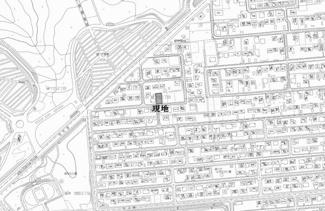 【地図】緑ヶ丘5丁目 売土地
