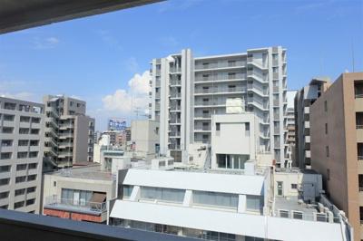 8階部分で眺望・採光良好です。