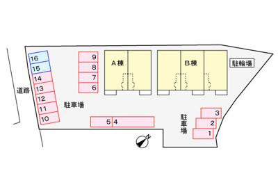 【区画図】アーバンコートA