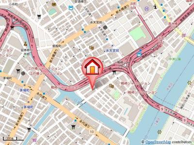 東京メトロ半蔵門線「水天宮前駅」より徒歩3分と駅近です!