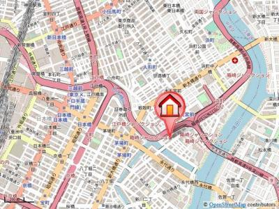 茅場町駅、人形町駅も徒歩10分以内。複数路線利用できアクセス良好です