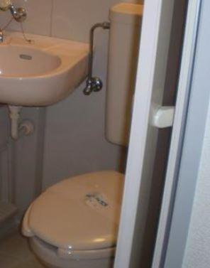 トイレ ユニット(別部屋参考写真)