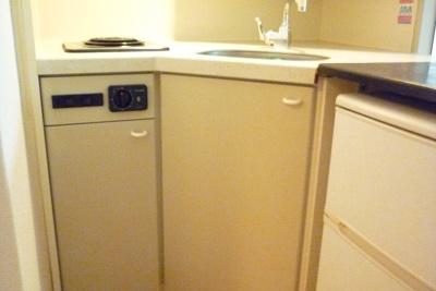 家電付のキッチン