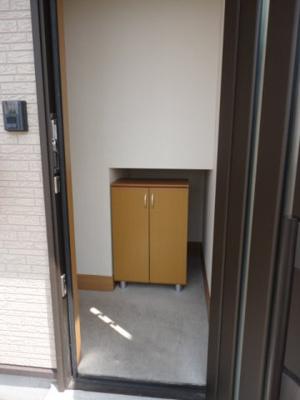 【玄関】ハイツクラウン古市