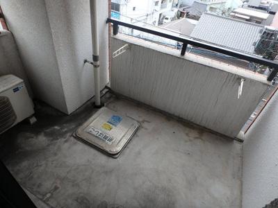 【バルコニー】藤本ビルNo.21中津口