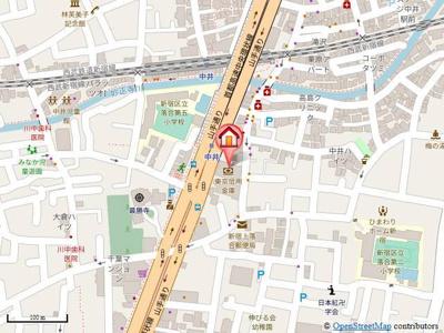 最寄りの中井駅まで徒歩1分の駅近物件です