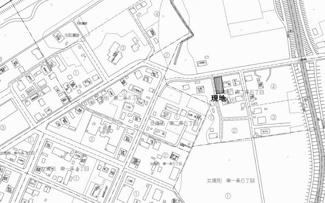 【地図】大空町女満別東二条6丁目 売土地