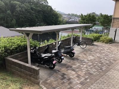 【その他共用部分】ガーデンコート車D棟