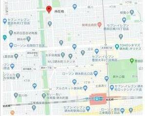 【地図】墨田区横川 貸倉庫