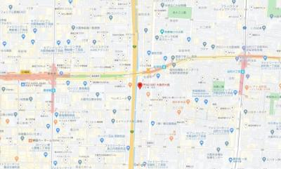 【地図】ODESSA松屋町