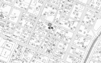 【地図】美幌町字栄町1丁目 売土地
