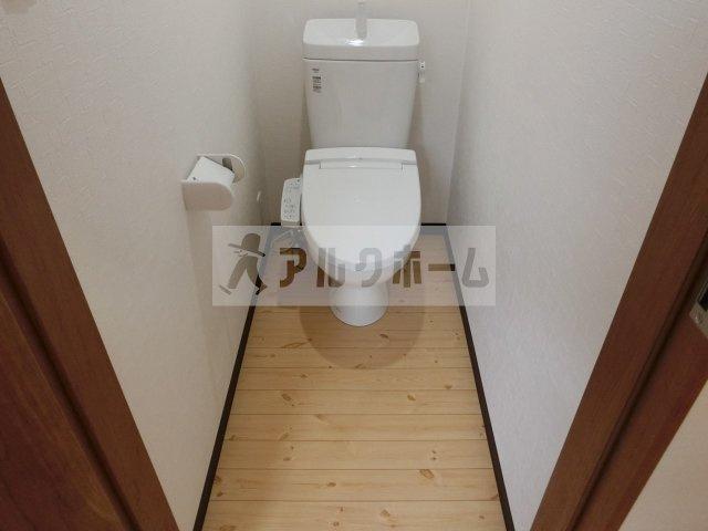 旭ヶ丘2丁目3DKテラスハウス 柏原市 トイレ