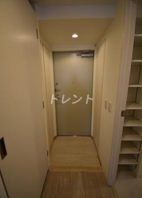 【玄関】オアーゼ芝浦レジデンス