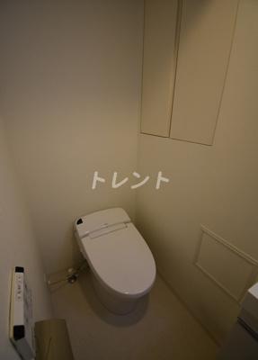 【トイレ】オアーゼ芝浦レジデンス