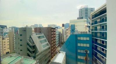 リビングからの眺望です。
