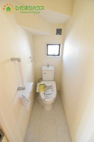 【トイレ】鴻巣市箕田 新築一戸建て リーブルガーデン 05