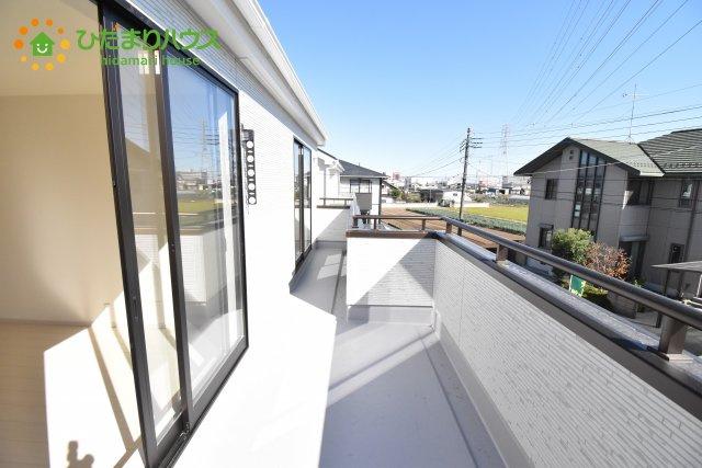 【バルコニー】鴻巣市箕田 新築一戸建て リーブルガーデン 05