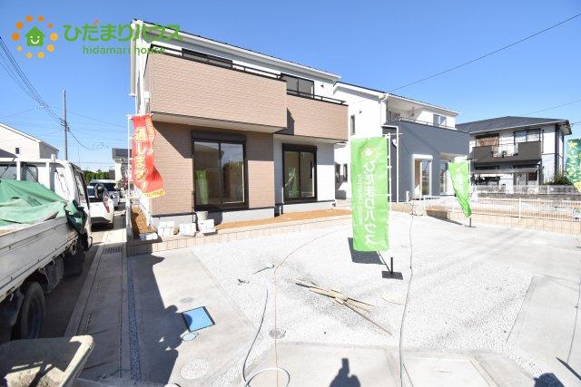 【外観】鴻巣市箕田 新築一戸建て リーブルガーデン 05