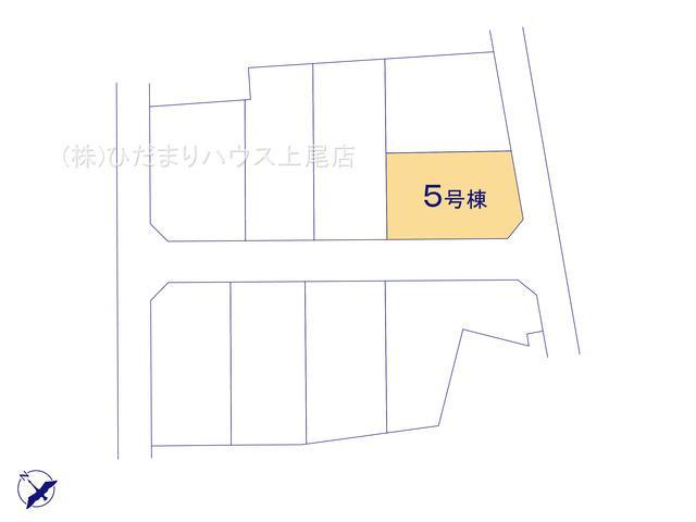 【区画図】鴻巣市箕田 新築一戸建て リーブルガーデン 05