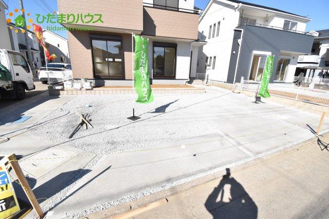 【駐車場】鴻巣市箕田 新築一戸建て リーブルガーデン 05