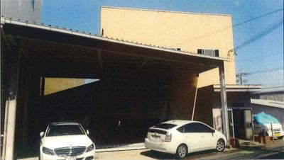 【外観】堺市中区楢葉 二階建て倉庫 約110坪! 駐車スペース有