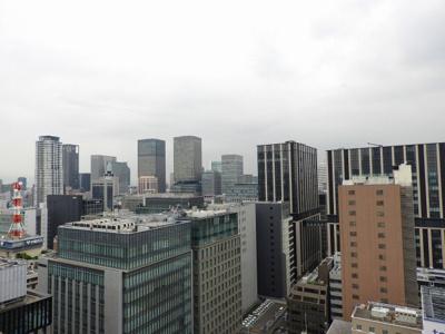 【バルコニー】リーガルタワー大阪