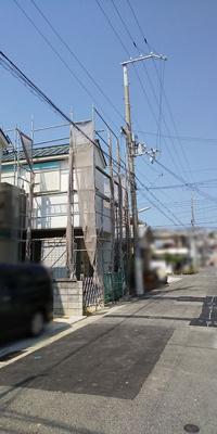 【前面道路含む現地写真】神戸市垂水区西舞子7丁目 新築戸建