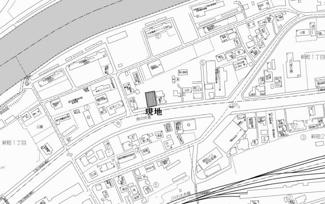 【地図】網走市新町1丁目 売土地