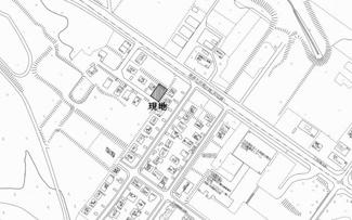 【地図】東陵町 売土地