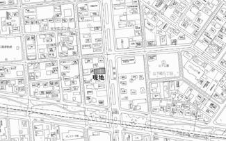 【地図】美芳町9丁目 売土地